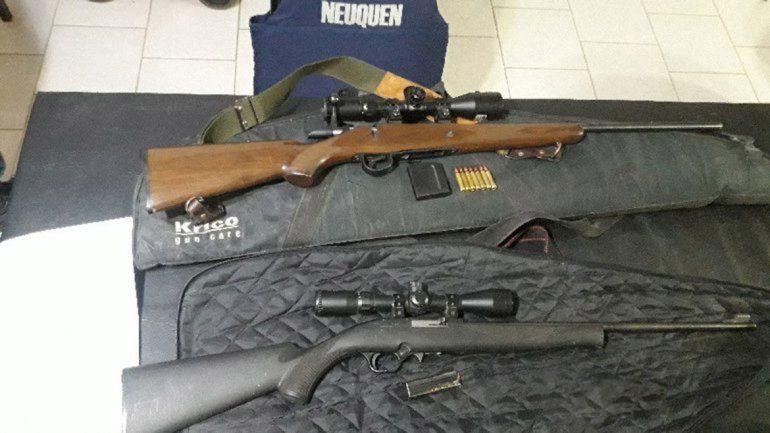Secuestran armas y truchas en un operativo en Picún
