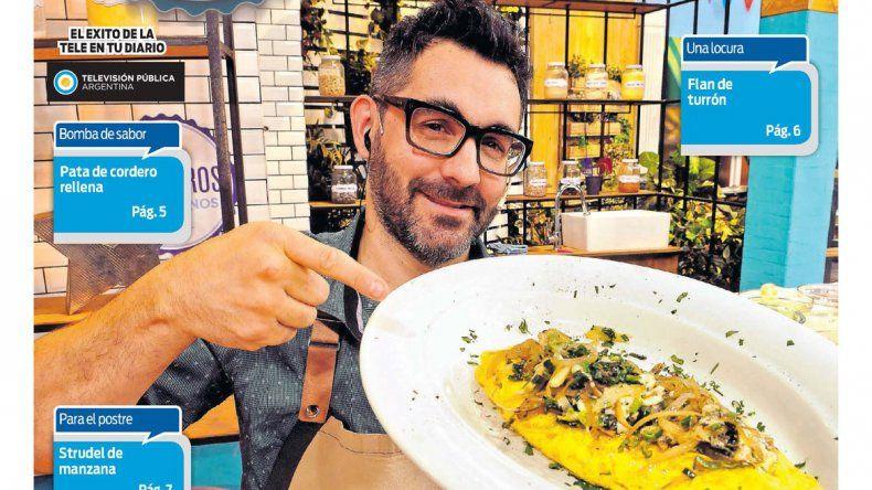 Cocineros Argentinos te enseña a hacer unos exquisitos omelettes