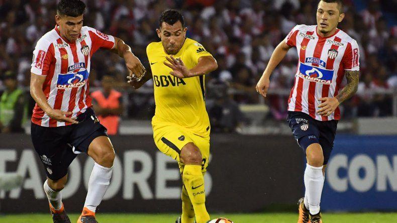 Boca igualó en Colombia tras ir perdiendo y ahora deberá ganar y esperar que Palmeiras le de una mano para pasar a octavos.