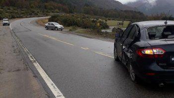 Una pareja cipoleña chocó contra turistas extranjeros en Ruta 40