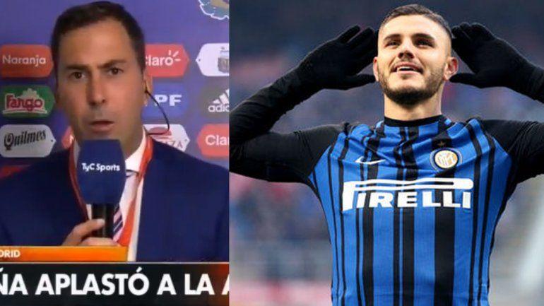 Arévalo e Icardi se cruzaron en las redes por la Selección