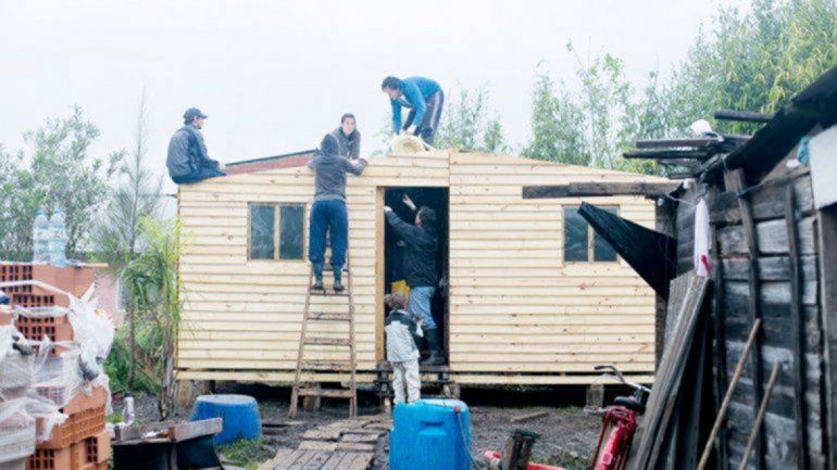 Techo arranca su colecta anual para construir casas
