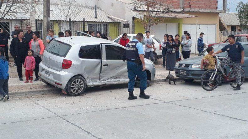 Borracho protagonizó otro violento choque en una esquina complicada de San Lorenzo