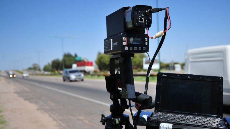 Se controlará la velocidad en rutas y calles