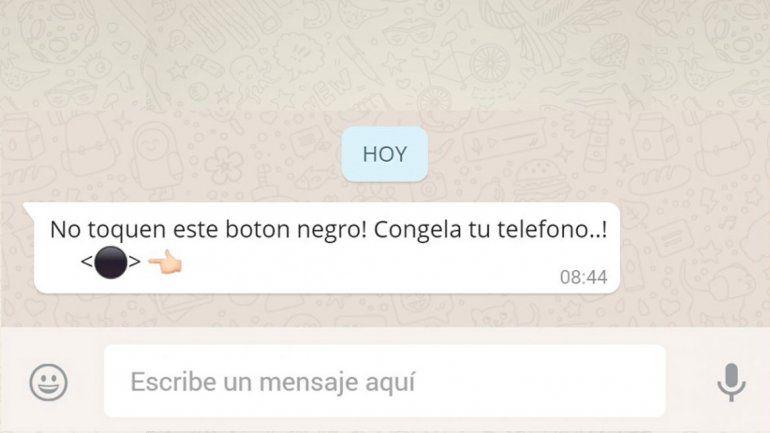 El misterioso botón negro de WhatsApp: ¿Por qué se tilda?