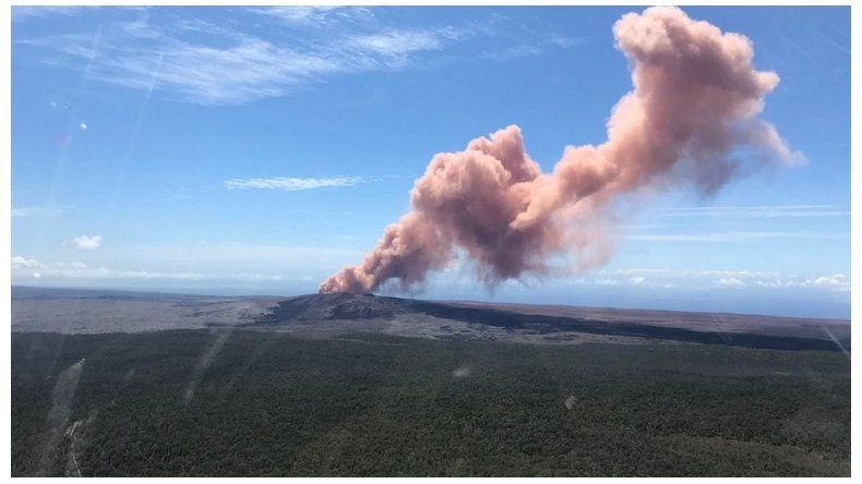 Cientos de evacuados en Hawái tras la erupción volcánica