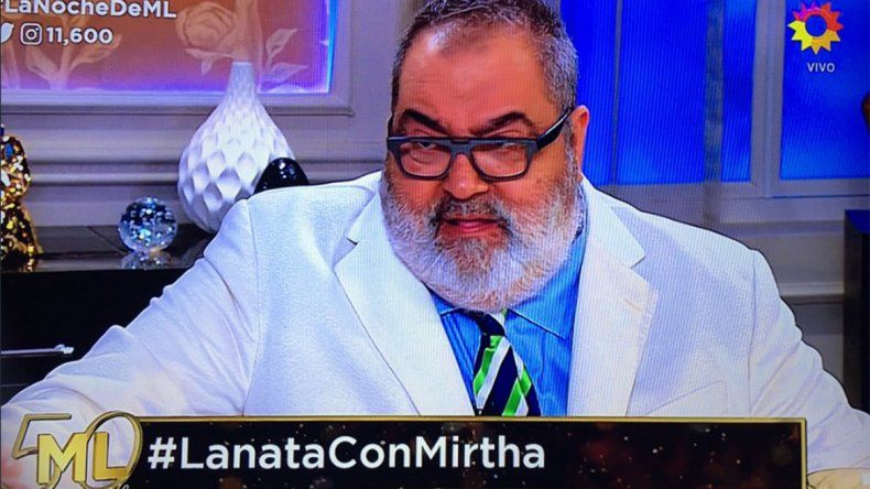 Lanata con Mirtha: Tendría que haber hablado Macri, no Dujovne