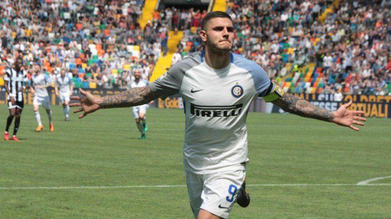 Icardi aportó para la victoria del Inter, Nápoli sólo empató