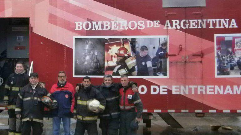 Unos 90 bomberos voluntarios de toda la provincia se entrenarán en un simulador