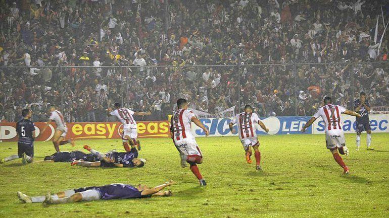 Brutal batalla campal tras el final de San Martín y Dálmine en el Nacional B