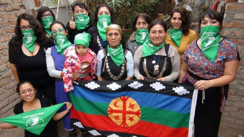 Mujeres mapuches exigen la legalización del aborto