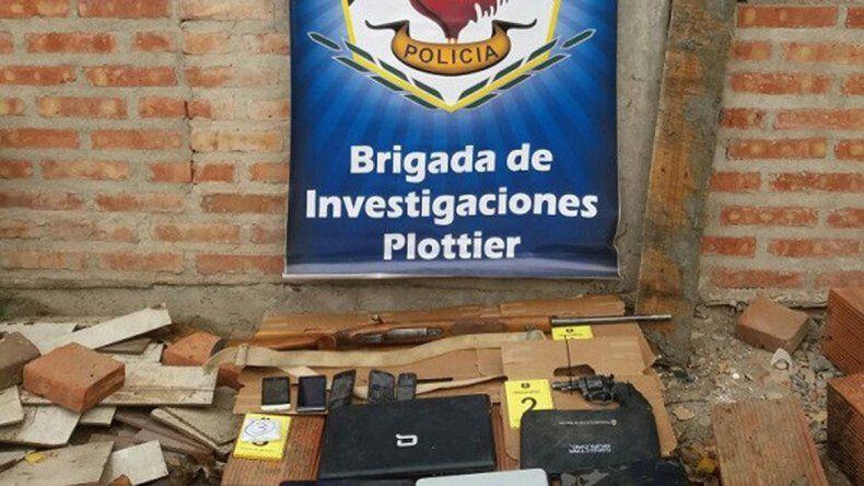 Incautan armas y drogas en Plottier y Valentina Norte