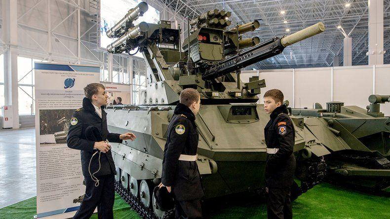 Su nombre es Urán-9 y hoy desfilará en Moscú por el Día de la Victoria.
