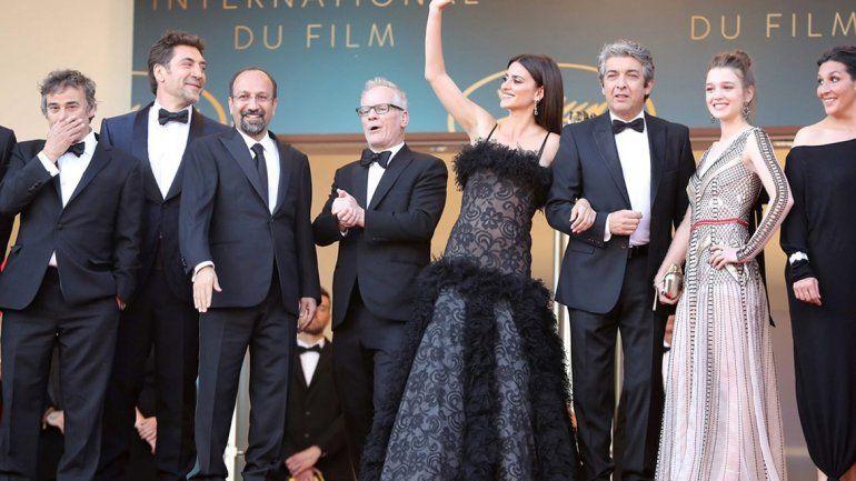 Ricardo Darín elogió a la actriz española que en la película encarna a su esposa.