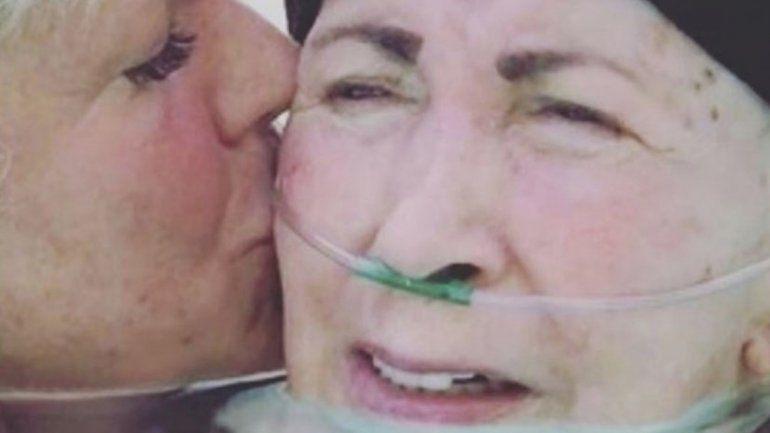 La madre de la animadora infantil padecía mal de Parkinson.