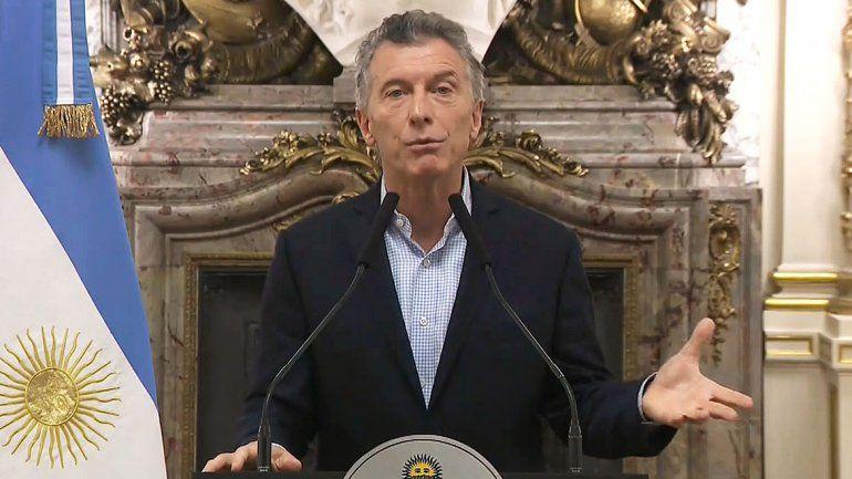 En su discurso