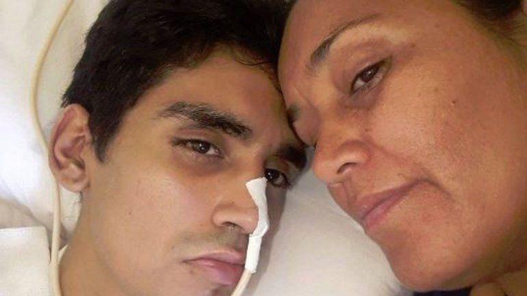 A dos meses de la golpiza, Facundo respira por sí solo