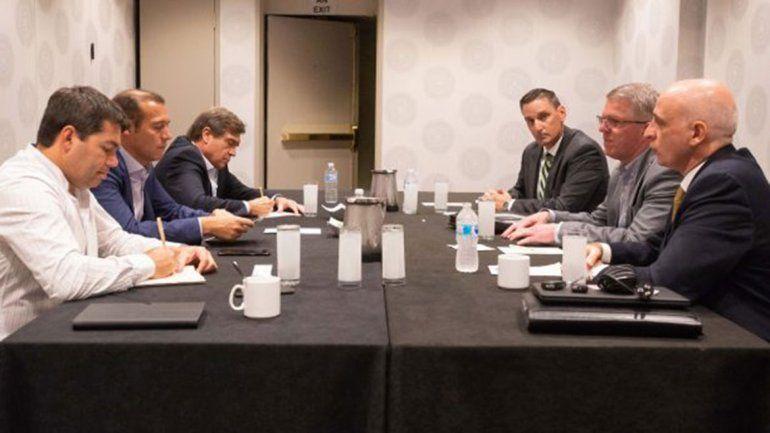 Gutiérrez expone sobre Vaca Muerta en Houston