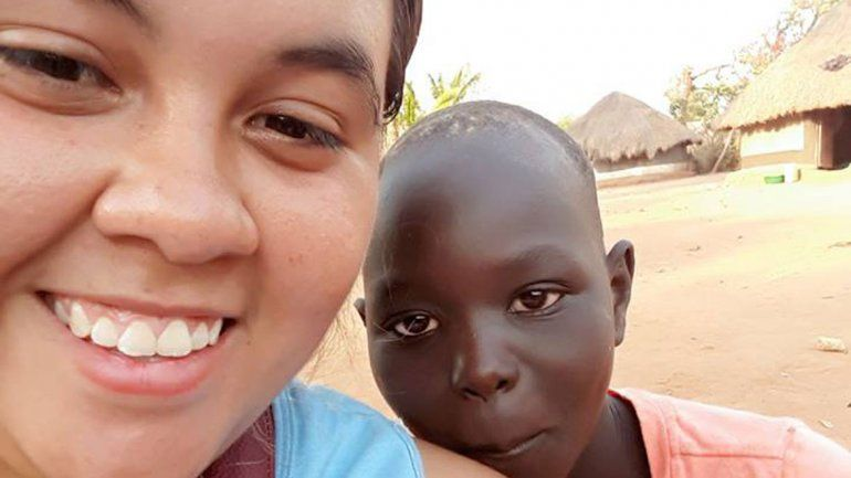 Eliana Díaz era de Pergamino y en enero había llegado al país africano para realizar tareas humanitarias y de evangelización.