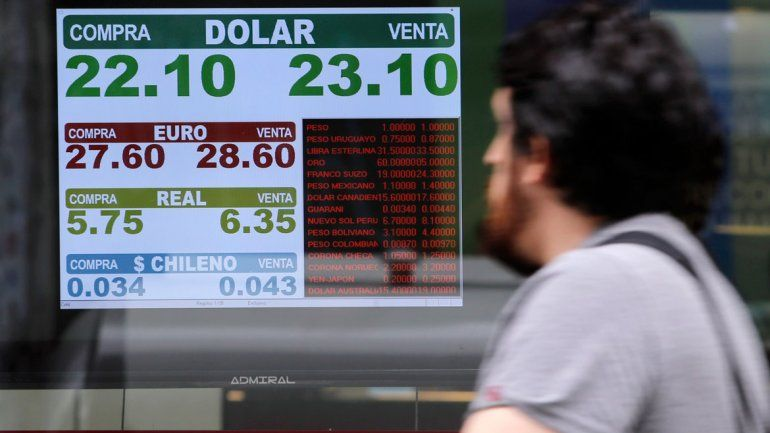 El dólar no aflojó y cerró a $23