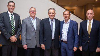 Gutiérrez tentó en EE.UU a inversores con Vaca Muerta