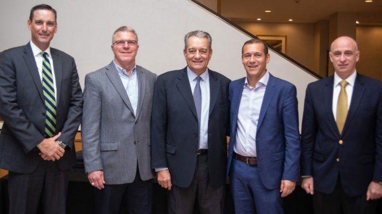 Gutiérrez en EE.UU. tentó a inversores con Vaca Muerta