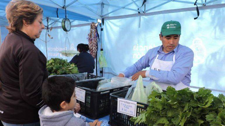 El Mercado en tu Barrio vuelve hoy al centro de la ciudad