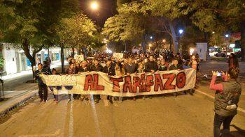 tarifazo: la gente se hizo sentir en las calles