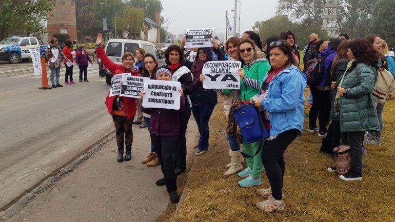 Hoy marcha ATEN por las calles de la ciudad y sigue el paro