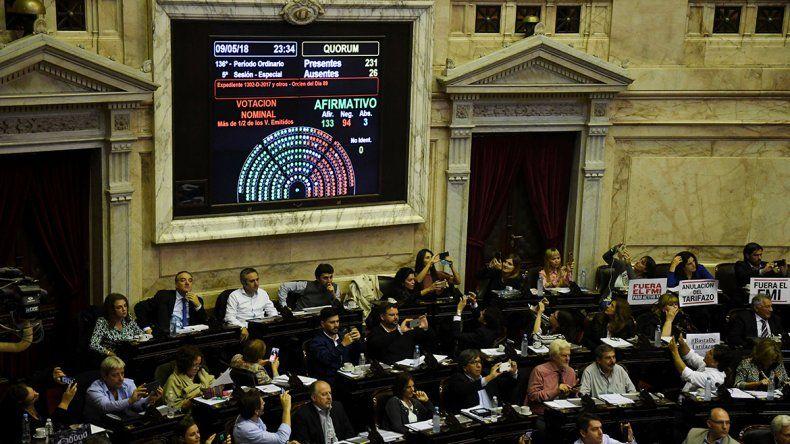 La oposición se unió y logró aprobar el proyecto contra los tarifazos