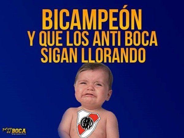 Los memes de Boca bicampeón con el recuerdo de River