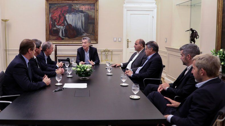 Macri estuvo en Casa Rosada con Schiaretti