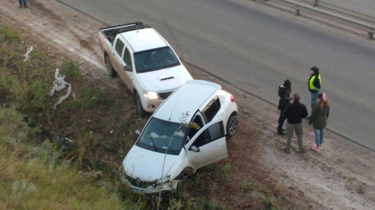 Dos accidentes complican el tránsito en la Ruta 7