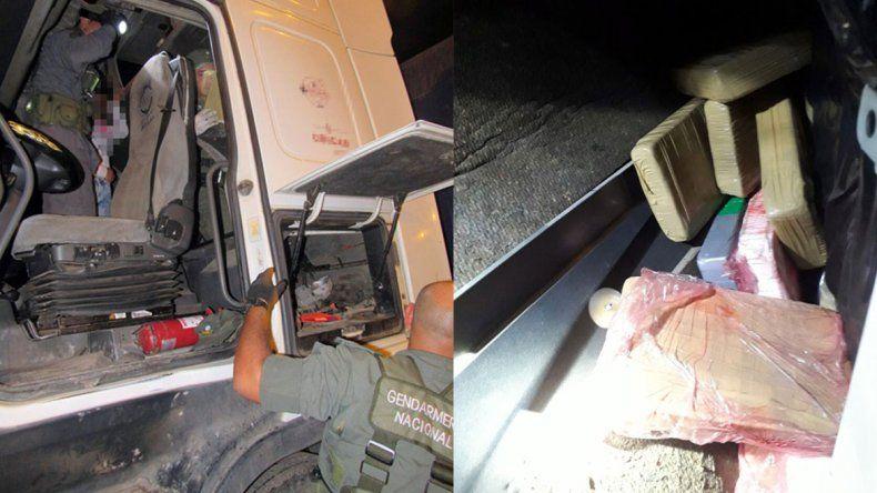 Gendarmería secuestró en Salta más de 20 kilos de cocaína que traían a Neuquén