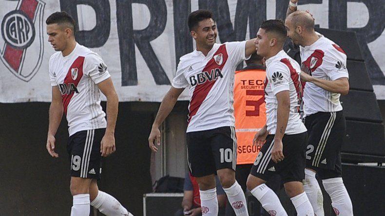 River le ganó al Pincha 2 a 0 y quiere asegurar un lugar en la Sudamericana