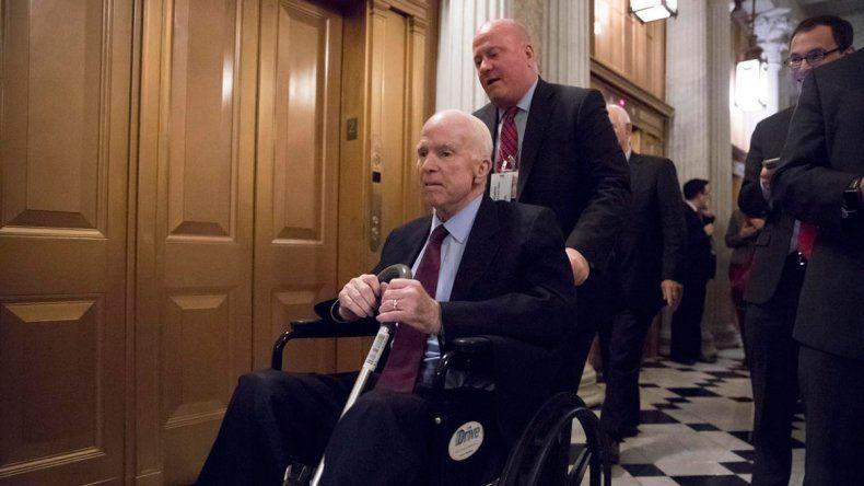 La Casa Blanca se burló del cáncer de un senador