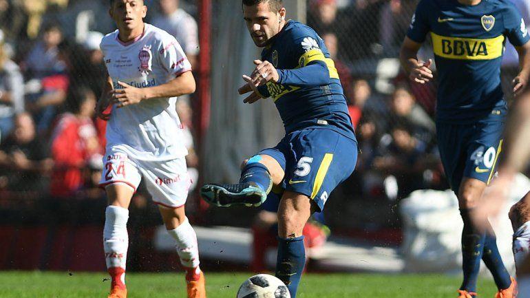 En el cierre de la Superliga, Boca y Huracán empataron 3 a 3