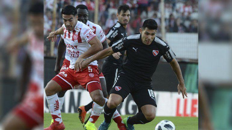 Independiente se quedó sin Libertadores: perdió 1 a 0 con Unión