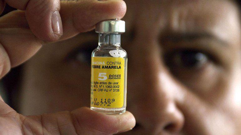 Fiebre amarilla: habrá vacunas nacionales