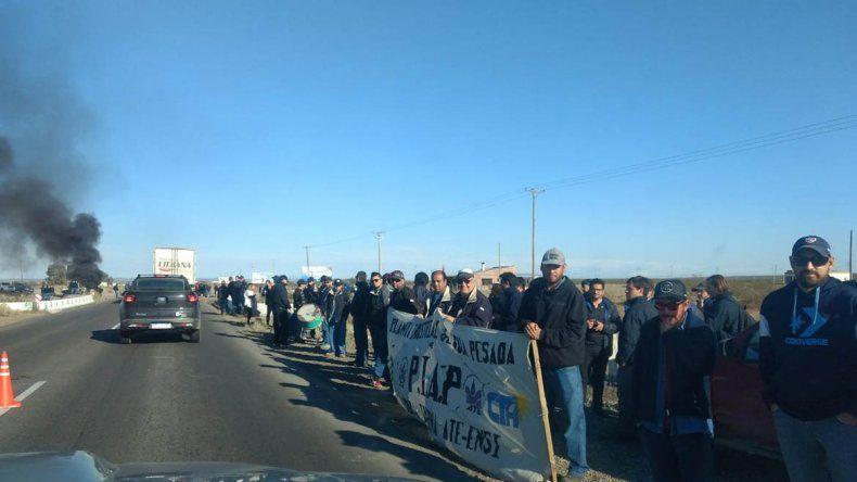 Trabajadores de la PIAP suspendieron el corte en Arroyito