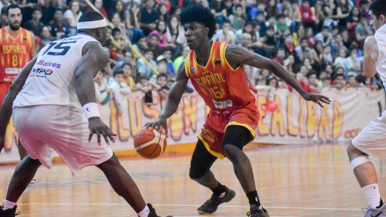 Alssene Saintilus jugó su mejor partido y fue el goleador con 21 puntos.