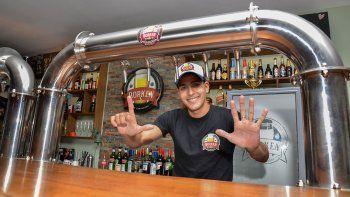 la historia de milenati, de barman a record en lifune