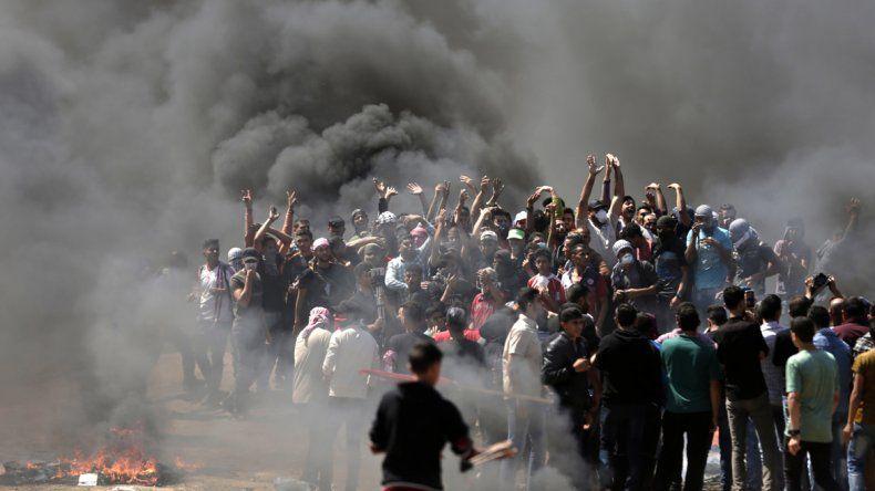 37 muertos en protestas por el traslado de la embajada de EE.UU