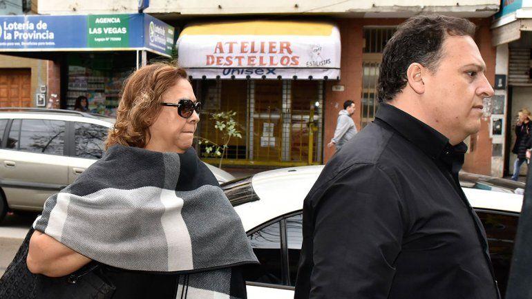 María Santos Caballero y Sebastián Marroquín