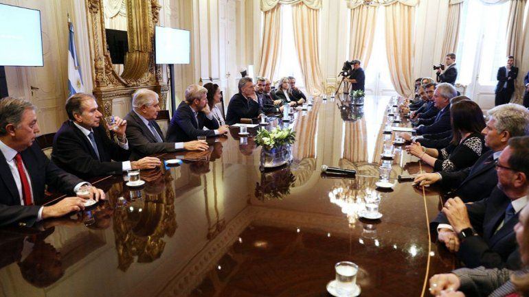 Pereyra con Macri: La situación está difícil