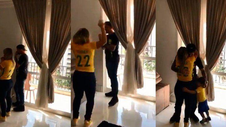 La emotiva reacción de la familia de un jugador que fue convocado al mundial