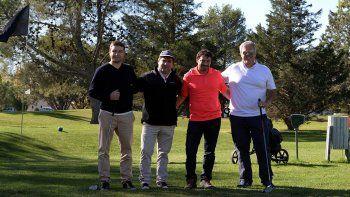 golf solidario para juntar fondos para barriletes en bandada