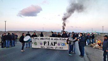 trabajadores de la piap no haran cortes de ruta hasta el miercoles