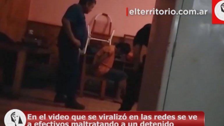 Misiones: policías torturan a preso a cinturonazos
