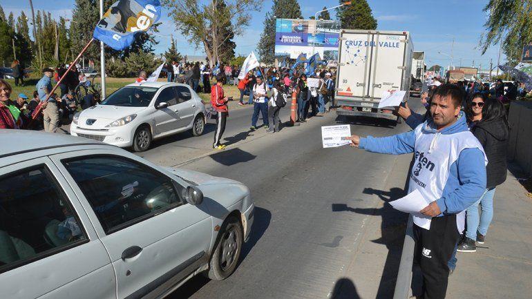 La explosiva suma de todas las protestas, en las rutas neuquinas